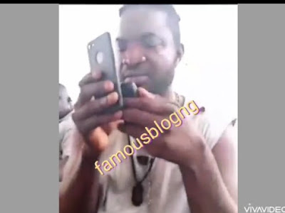 """Shut up, you are stupid"" - ATM card scammer angrily shouts at man on phone (Video)"