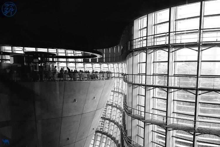 Le Chameau Bleu - Blog Voyage Japon - Tokyo visite du Centre National d'Art à Roppongi