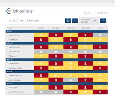 OfficePlaner-WEB