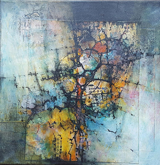 Daily Painters Abstract Gallery: Mixed Media, Contemporary ...