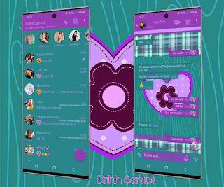 Cute Love Theme For YOWhatsApp & Fouad WhatsApp By Driih Santos