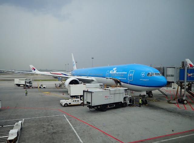 pengalaman terbang dengan klm royal dutch airlines