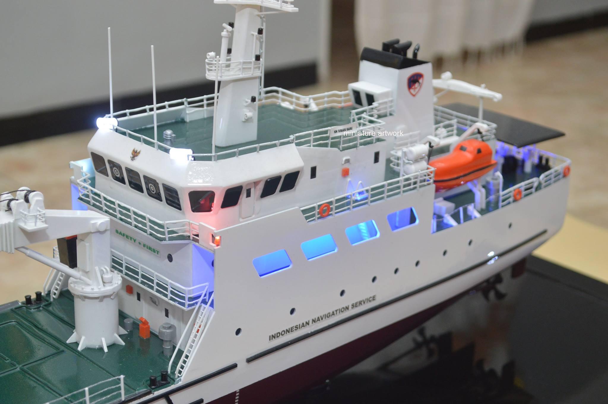 pengrajin miniatur kapal kn sibaru baru terpercaya rumpun artwork planet kapal indonesia