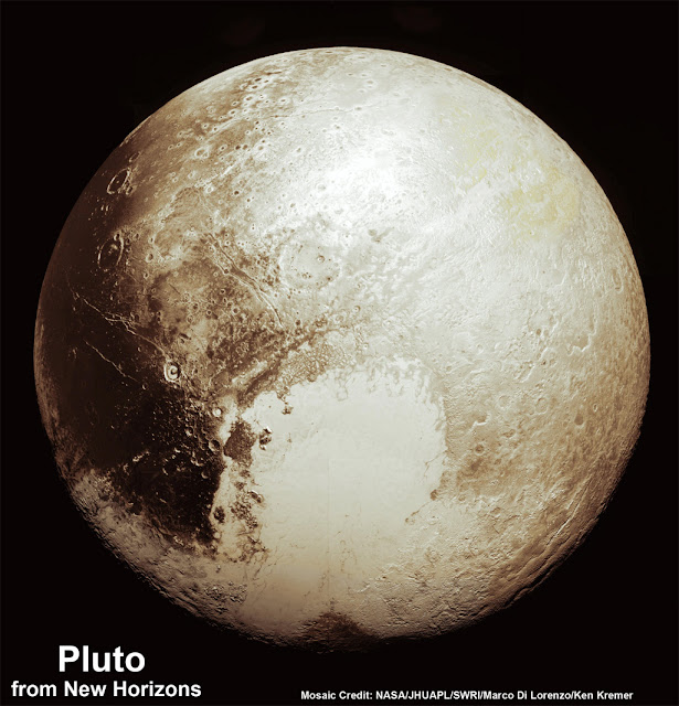 Plutão em alta definição - novas imagens