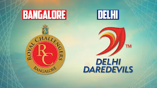 Delhi Daredevils (DD) vs  (RCB) Royal Challengers Bengaluru