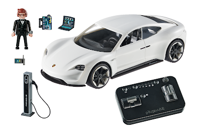Playmobil Rex Dasher's Porsche Mission E