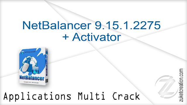 NetBalancer 9.15.1.2275 + Activator