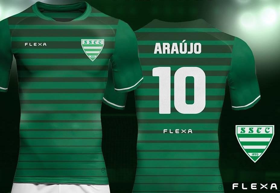 09af18616c Flexa lança a nova camisa titular do Sete de Setembro de Garanhuns. A  fabricante de material esportivo ...