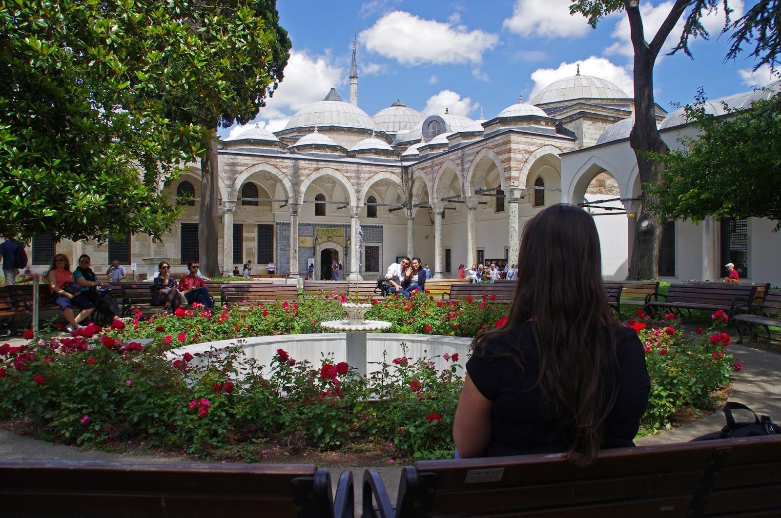Girl at Topkapi Palace