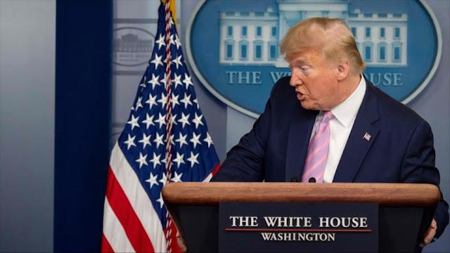 Inteligencia de EEUU alertó a Trump de COVID-19 en noviembre