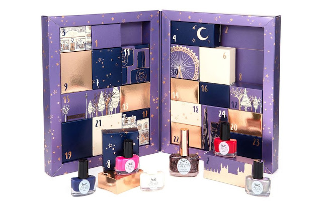 Advent  Beauty Calendar for Christmas. Advent Calendar 2016 Gift Guide.