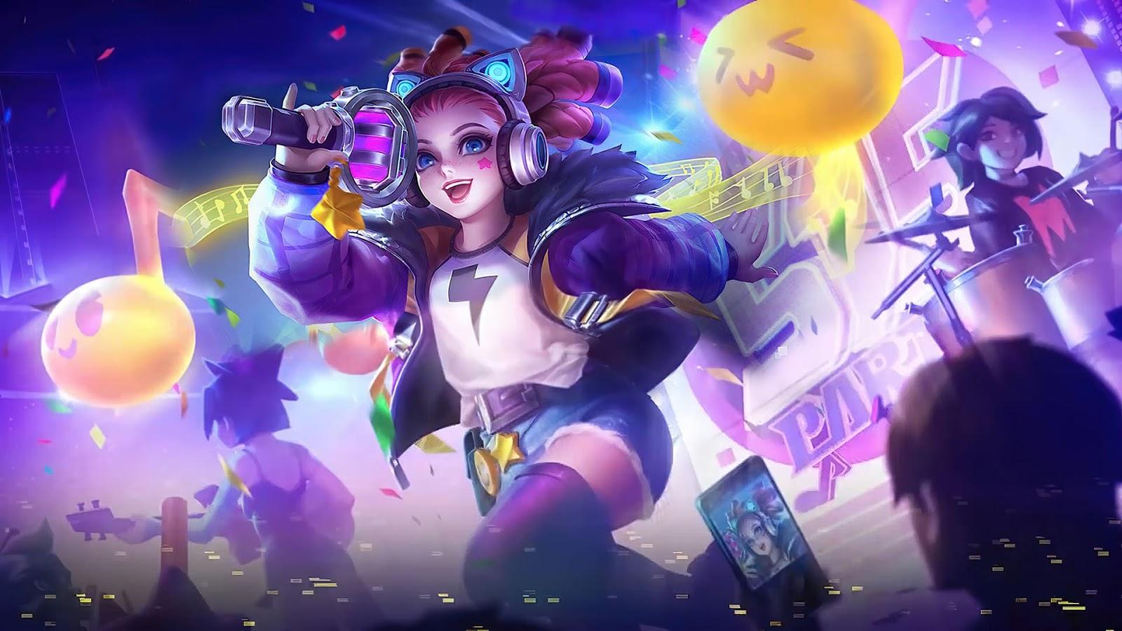 Wallpaper Lylia Future Star Skin Mobile Legends HD for PC