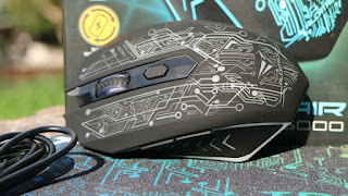 Unboxing & Review Mouse Gaming Wireless Alcatroz X-CraftAir Tron 5000