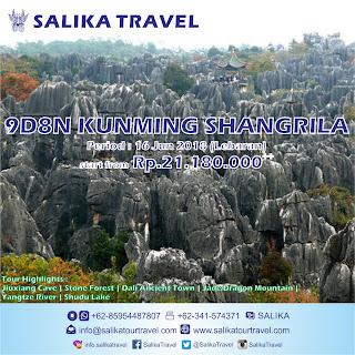9D Kunming Shangrila Lebaran 2018 - Salika Travel
