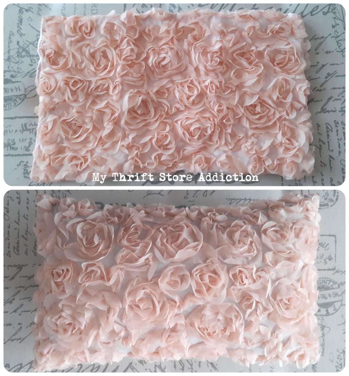 pretty petal pillow cover