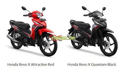 Honda Revo X versi 2020