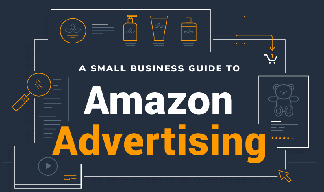 A Small Business Guide to Advertising on Amazon #infographic