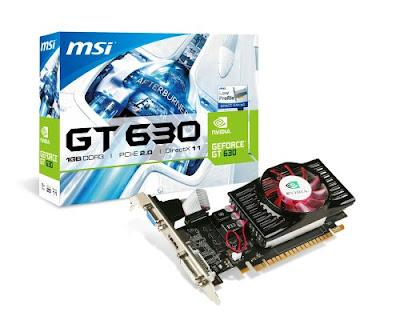 Nvidia GeForce GT 630フルドライバーのダウンロード
