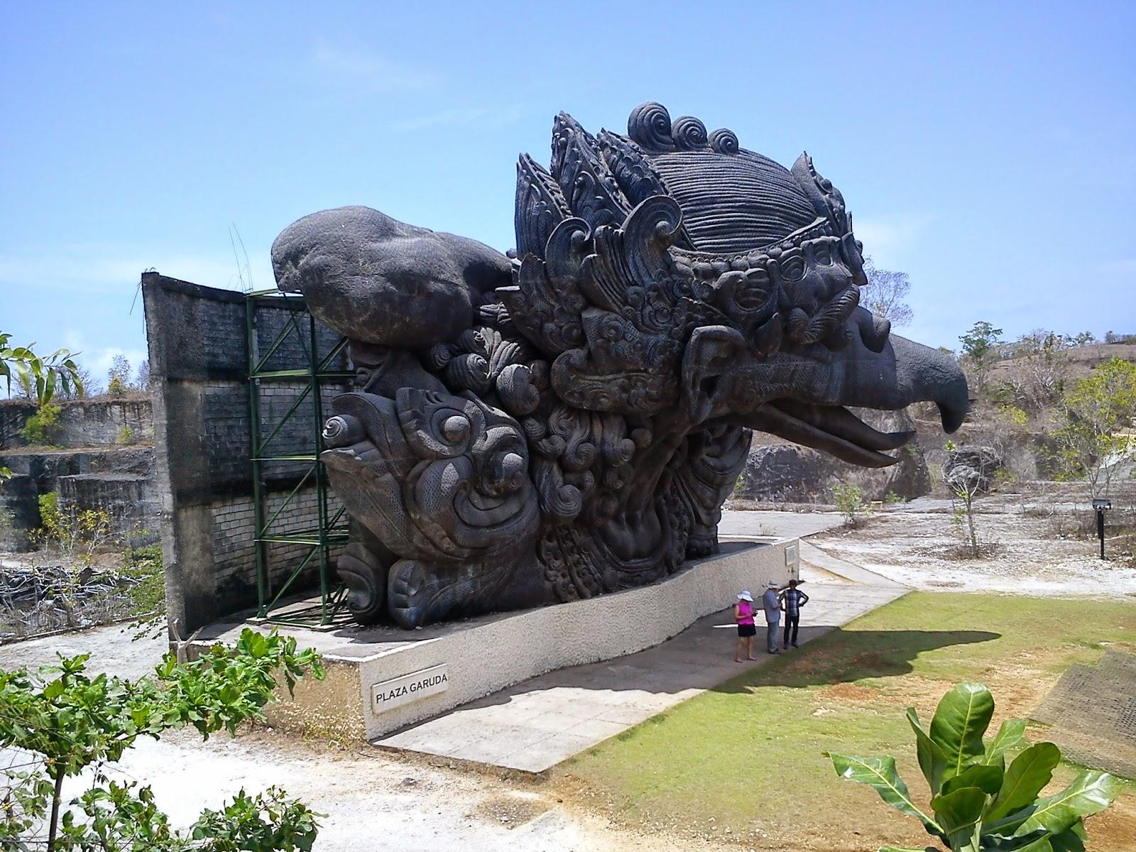 Mengunjungi Garuda Wisnu Kencana Cultural Park Bali
