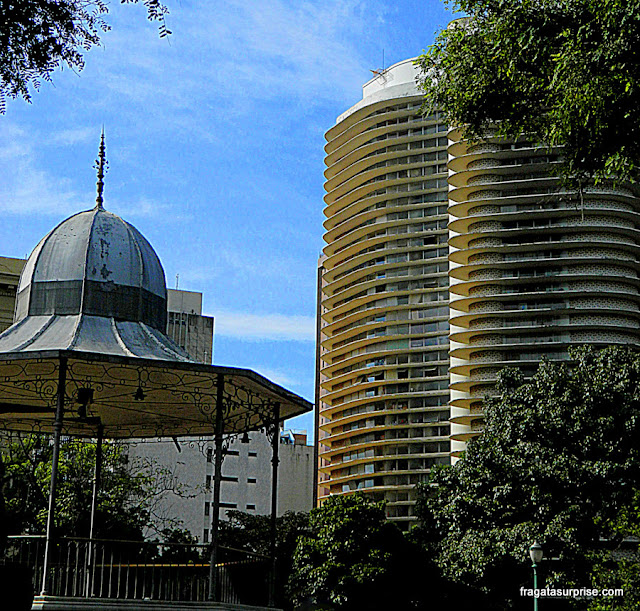 Edifício Niemeyer, Praça da Liberdade, Belo Horizonte