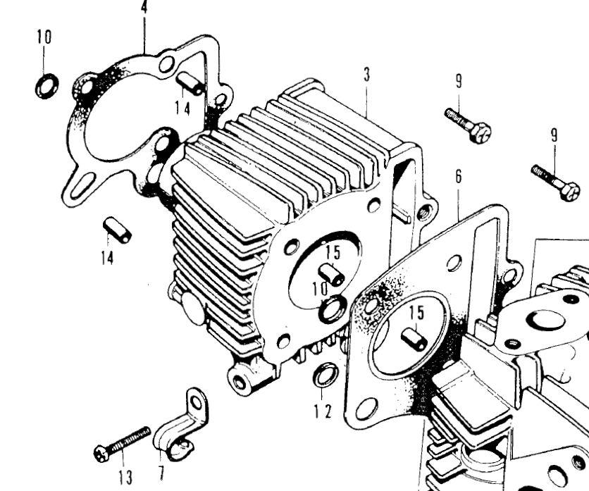 honda atc 70 engine diagram