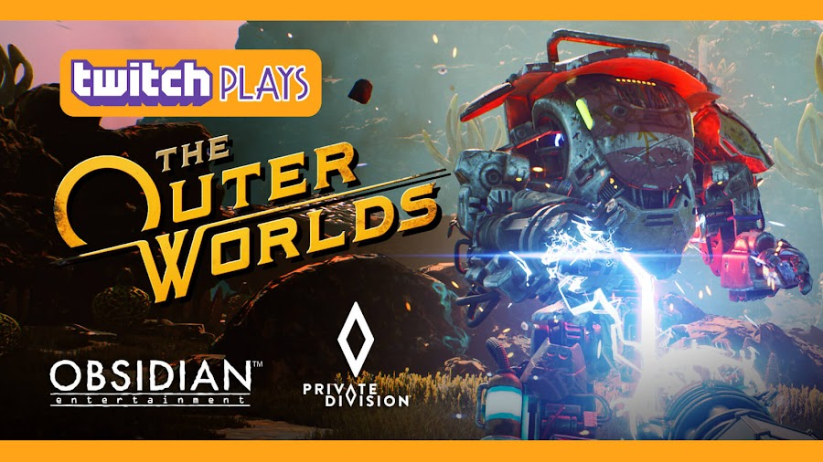 the outer worlds twitch stream pre-release title pc ps4 xb1 nintendo switch obsidian entertainment private division
