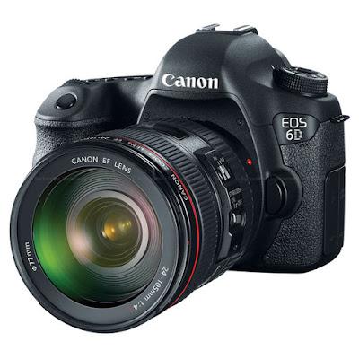 Canon EOS 6D DSLRダウンロードフルドライバー