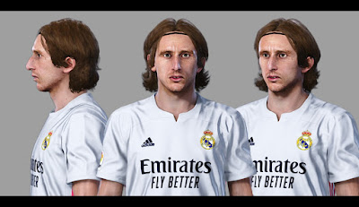 PES 2021 Faces Luka Modric by Sameh Momen
