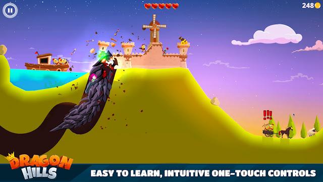 Screenshot Dragon Hills - Apcoid