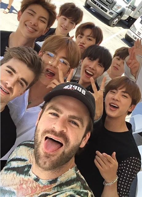 The Chainsmokers and K-Pop star BTS working on a new collaboration 'Best of Me'
