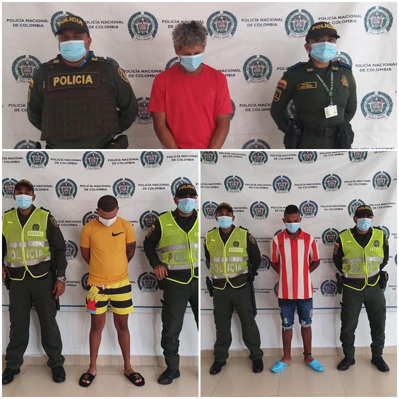 hoyennoticia.com, Tres capturados en Fonseca