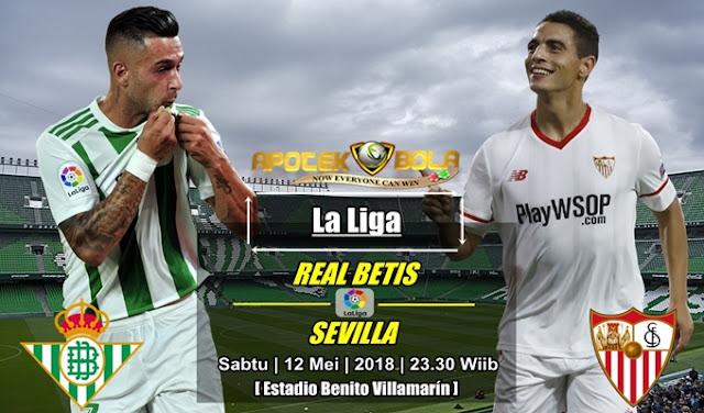 Prediksi Real Betis vs Sevilla 12 Mei 2018
