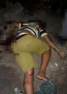 Durante festa de paredão, homem é executado a tiros em local público na cidade de Mata Roma