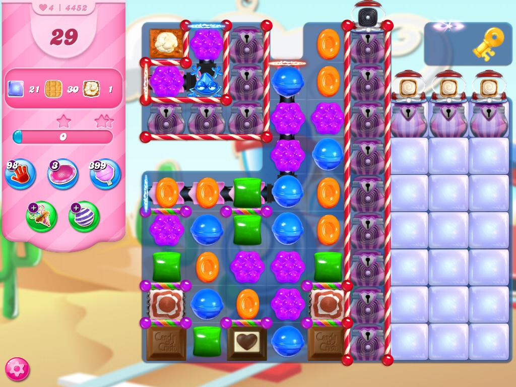 Candy Crush Saga level 4452