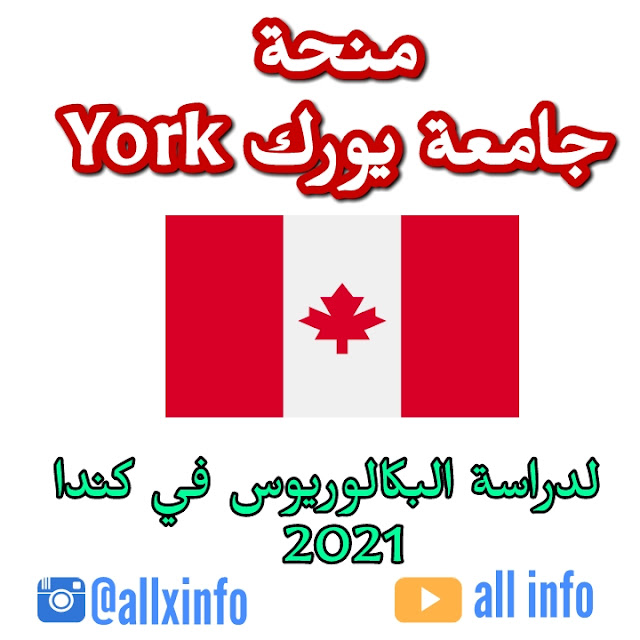 منحة جامعة يورك York لدراسة البكالوريوس في كندا 2021