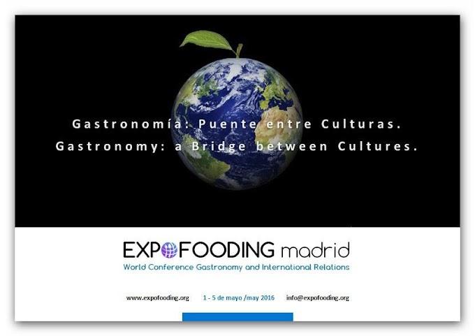 EXPOFOODING, Congreso Mundial de Gastronomía y Relaciones Internacionales.