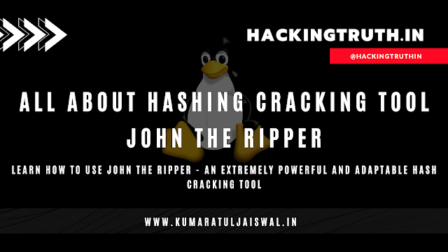 All About Hashing Cracking Tool John The Ripper