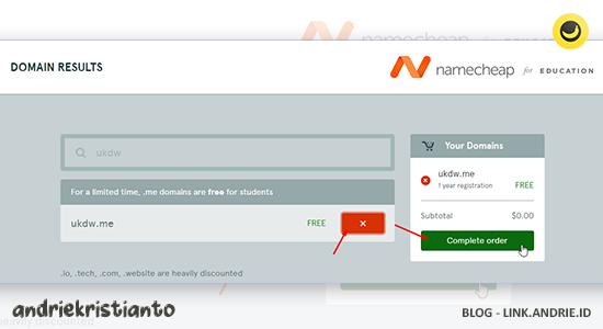 Cara mendapatkan dan daftar domain .me gratis selamanya
