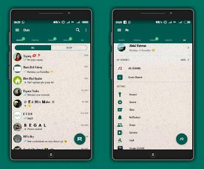 BBM Mod Tema Whatsapp Apk