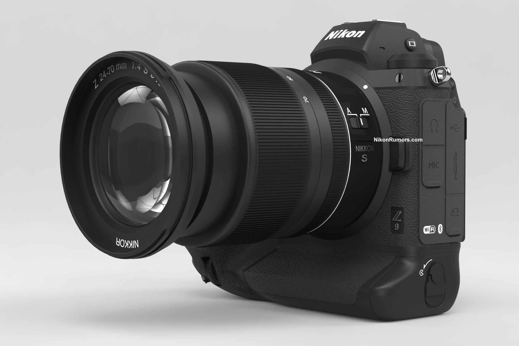 Nikon Z9, макет