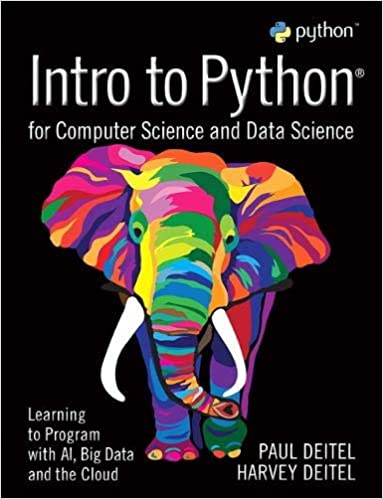Intro To Python For Computer Science And Data Science PDF