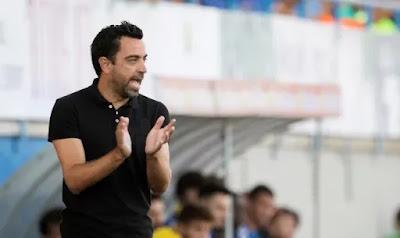 نادي برشلونة: يرسل الى تشافي طلب دعم لمنصب المدرب
