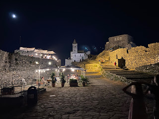 Church of San Pietro at night - Porto Venere