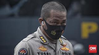 Gerak Cepat, Polisi Tangkap 400 Orang di Jakarta Terkait Demo Omnibus Law