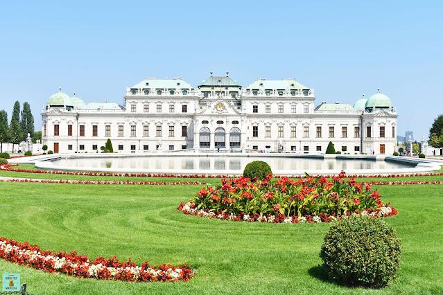 Palacio Belvedere en Viena
