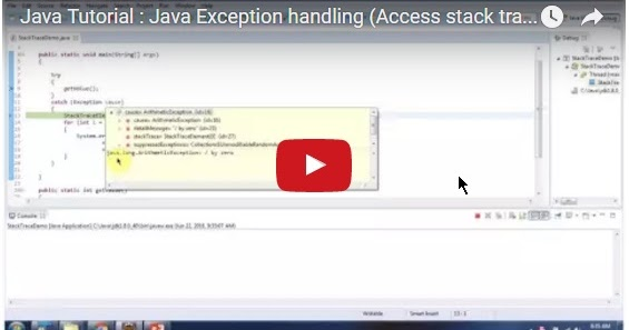 Java ee java tutorial java exception handling access for Object pool design pattern java example