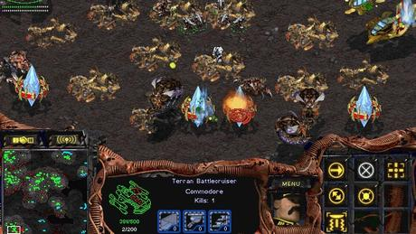 StarCraft 1 PC GamePlay Screenshot