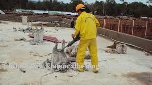 Khoan cắt bê tông tại huyện Côn Đảo