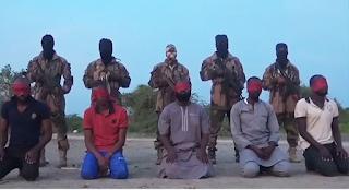 Boko Haram terrorists killed five Aid workers in Borno