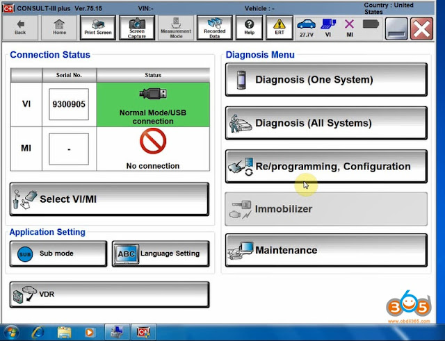 Consult III Plus V75 15 Software Installation Guide - OBD2